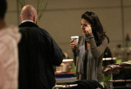 Moran Atias - Moran in the airport - Israel  10/2009