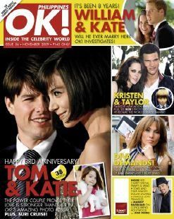 Katie Holmes - OK! Magazine [Philippines] (November 2009)