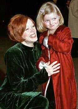 Frances Fisher  & Daughter
