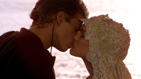 Padmé Amidala Natalie Portman and Hayden Christensen in Star Wars: Episode II - Attack of the Clones (2002)