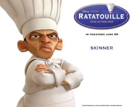 Ian Holm Ratatouille Wallpaper