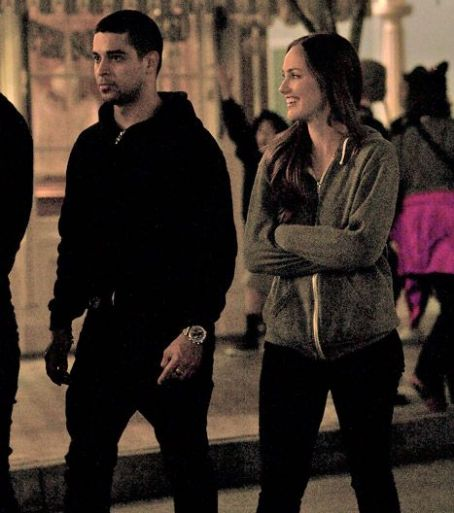 Wilmer Valderrama and Minka Kelly