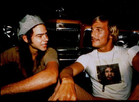 Ron Slater Rory Cochrane And Matthew Mcconaughey In Dazed And Confused (1992).