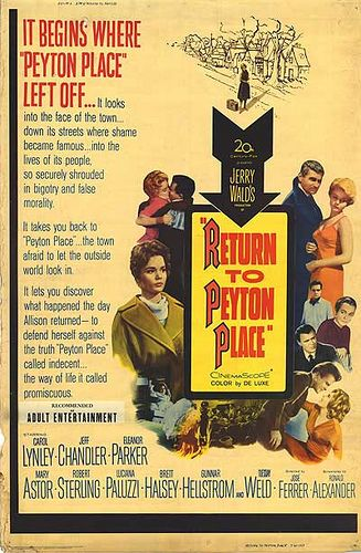 Return to Peyton Place  (1961)