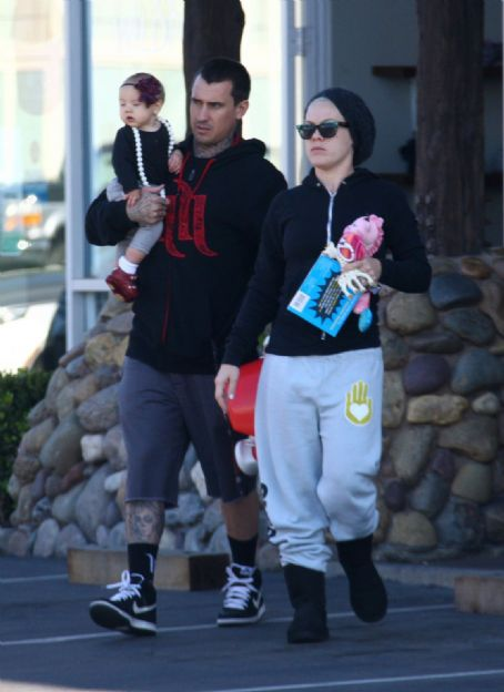 Pink and Carey Hart Go Shopping in Malibu