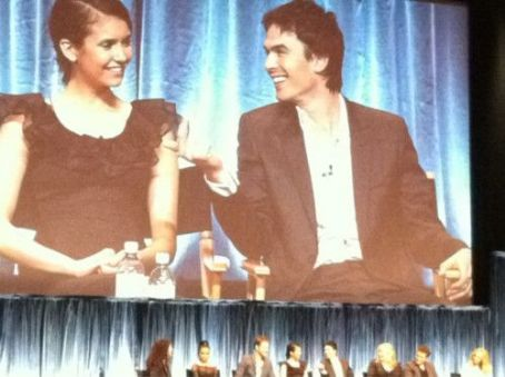 Candice Accola - Nina Dobrev, Ian somerhalder And The Rest Of The Cast Of The Vampire Diaries At Paleyfest