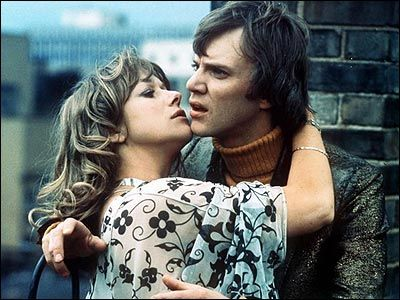 Malcolm McDowell  and Helen Mirren in