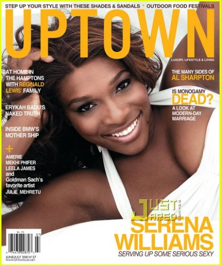 Serena Williams - Uptown Magazine [United States] (June 2010)