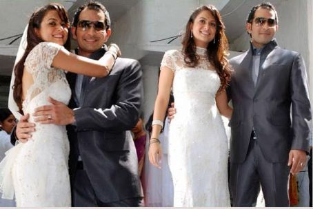 Amrita Arora  Shakeel Ladhak Wedding