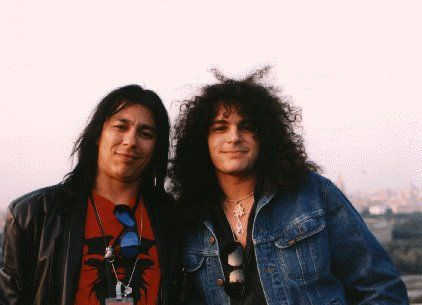 Randy Castillo  with Fred Coury