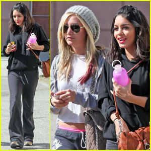 Vanessa Hudgens & Ashley Tisdale Dance to Beyonce