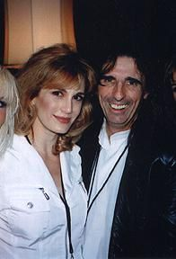 Alice Cooper and Sheryl Cooper