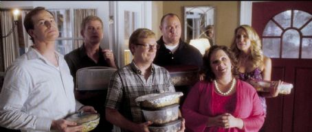 Andrew Daly - (L-r) ROB HUEBEL as Ted, BILL BROCHTRUP as Gary, ANDREW DALY as Scott, WILL SASSO as Josh, MELISSA McCARTHY as Deedee and JESSICA ST. CLAIR as Beth in Warner Bros. Pictures' and Village Roadshow Pictures' romantic comedy 'LIFE AS WE KNOW IT,&#