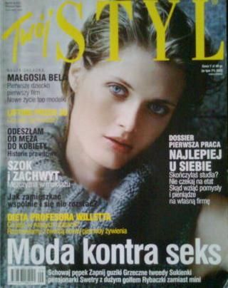 Malgorzata Bela - Twój Styl Magazine Cover [Poland] (September 2004)
