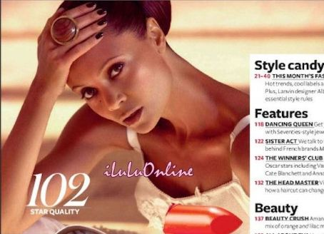 Thandie Newton InStyle UK June 2011