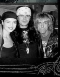 Renee Beach Ian Astbury and