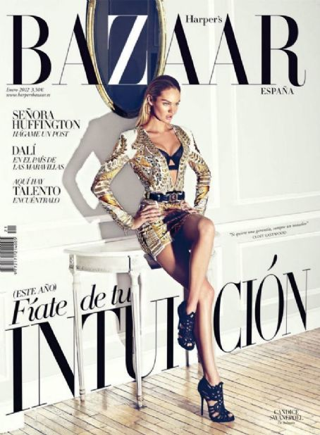 Candice Swanepoel - Harper's Bazaar Magazine Cover [Spain] (January 2012)