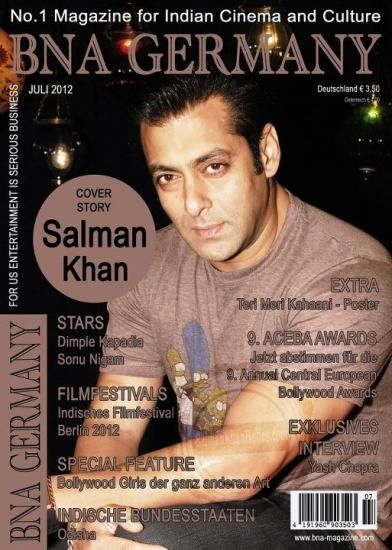 Salman Khan - Bna Germany Magazine Pictorial [India] (July 2012)
