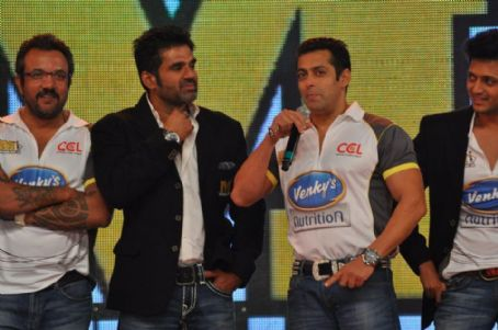Sunil Shetty - Stars At CCL Season 2 Curtain Raiser