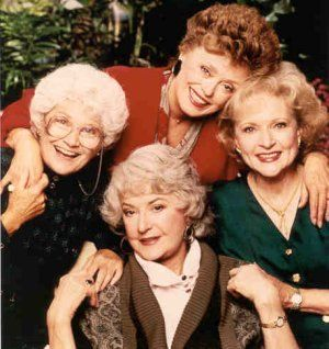 Rue McClanahan  & Golden Girls