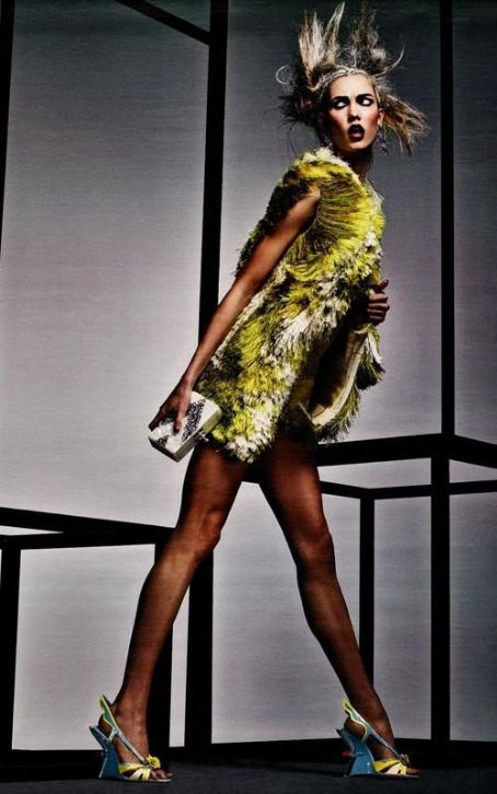Karlie Kloss is W Magazine's April 2012 'Drama Queen'
