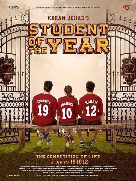 Varun Dhawan Latest New Posters of Student of The Year 2012