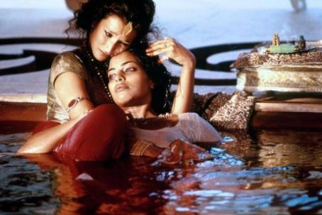 Kama Sutra: A Tale of Love Sarita Choudhury and Indira Varma in Kama Sutra