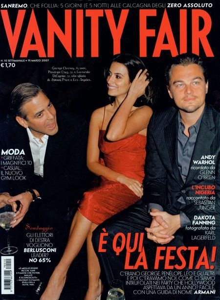 George Clooney - Vanity Fair Magazine [Italy] (March 2007)