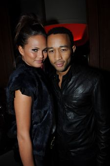 John Legend  and Christy Teigen