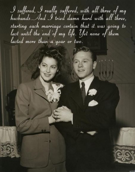 Ava Gardner and Mickey Rooney(ava gardner museum)