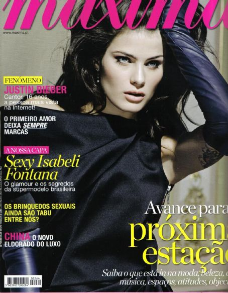 Isabeli Fontana - Maxima Magazine Cover [Portugal] (November 2009)