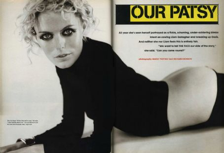 Patsy Kensit - The Face Magazine Pictorial [United Kingdom] (December 1996)