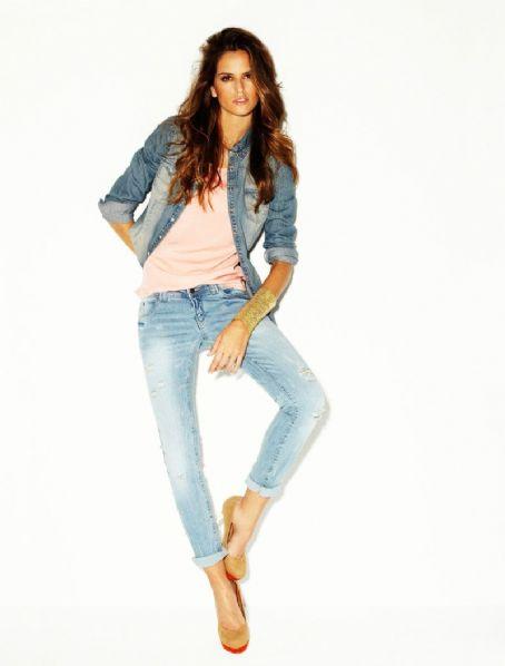 Izabel Goulart: Blanco Jeans spring / summer 2012 Campaign