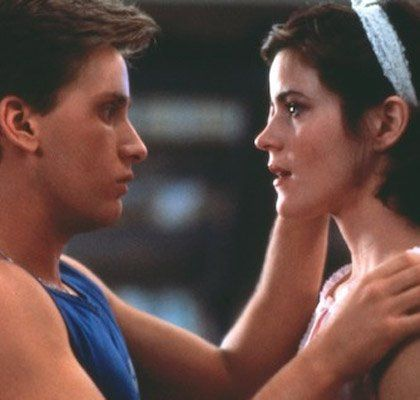 Ally Sheedy  and Emilio Estevez
