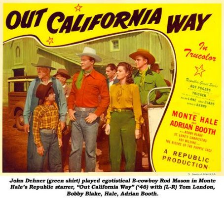 John Dehner Out California Way