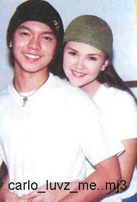 Angelica Panganiban and Carlo Aquino