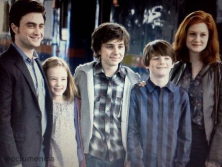 Bonnie Wright - Harry & Ginny Potter & their children