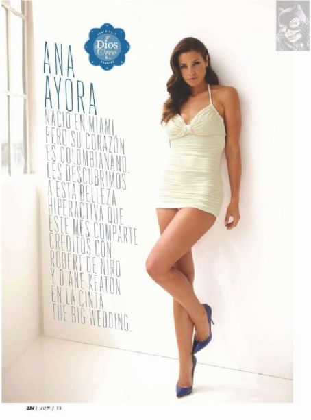 Ana Ayora Esquire Mexico June 2013
