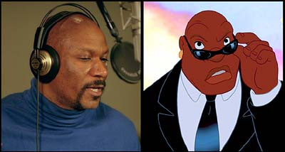 Lilo & Stitch Ving Rhames is the voice of Cobra in Walt Disney's Lilo & Stitch - 2002