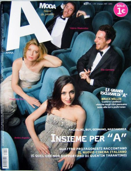 Margherita Buy, Ambra Angiolini - anna Magazine Cover [Italy] (14 June 2007)