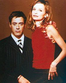 Ally McBeal  and Larry Paul
