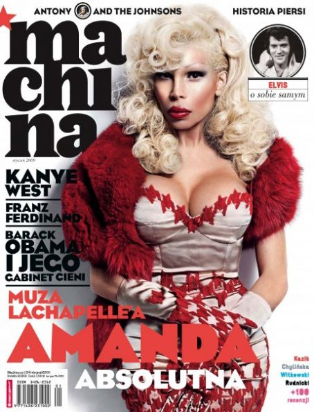 Amanda Lepore - Machina Magazine [Poland] (January 2009)