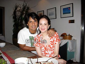 Richard Gomez and Lucy Torres