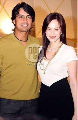 Richard Gomez and Lucy Torres Photograph