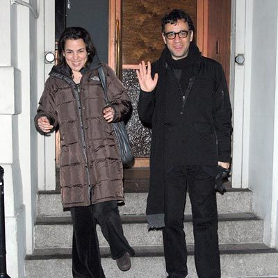 Fred Armisen  and Petra Haden