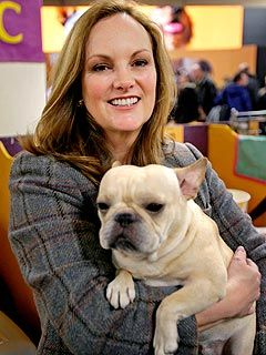Patty Hearst's French Bulldog Wins at Westminster Dog Show