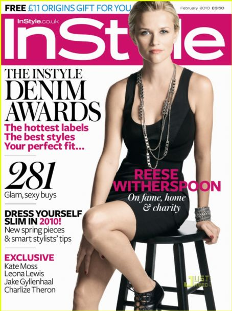Reese Witherspoon - InStyle Magazine [United Kingdom] (February 2010)