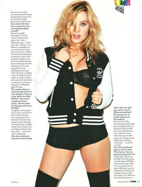 Laura Whitmore  - FHM Magazine Pictorial [United Kingdom] (September 2011)