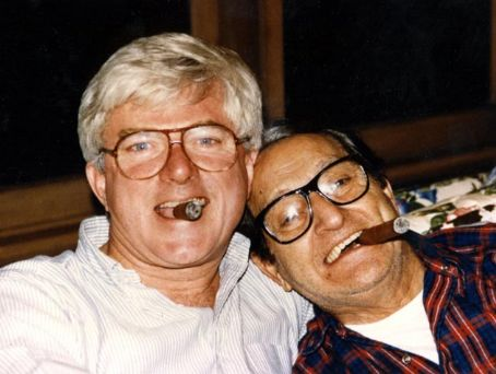 Phil Donahue Phil with father-in-law Danny Thomas