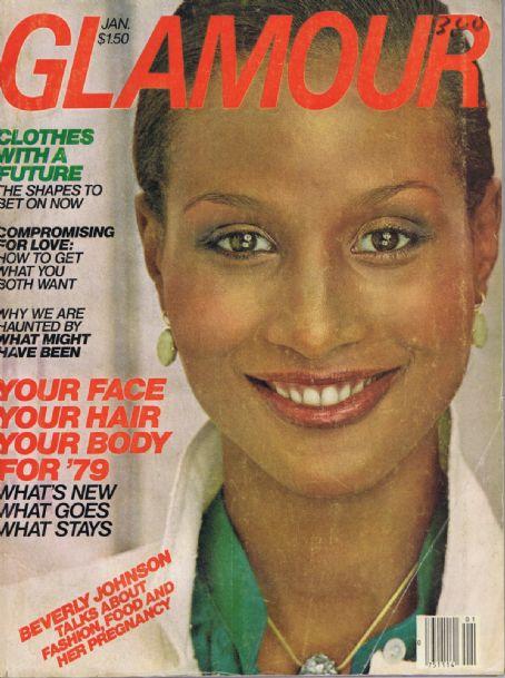 Beverly Johnson - Glamour Magazine [United States] (January 1979)